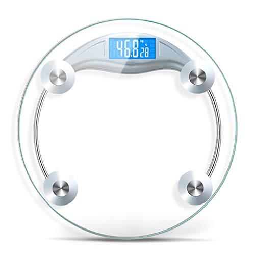 Nombre del producto: Escala de saludModelo de producto: escala humana.Peso neto: alrededor de 2K9Tamaño del producto: 33cmX33cmX4cmRango de pesaje: 0.2kg-150kgMaterial de vidrio: vidrio templadoModo de visualización: pantalla LCDTecnología de filete:...