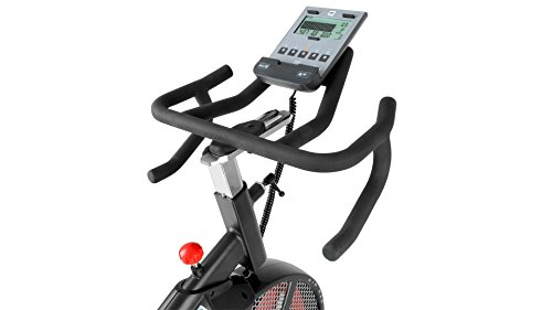 413wOzc9a0L - Bh Fitness Unisex's i.Air Mag Spinning Bikes, Black/Red, Large