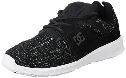 dc-shoes-heathrow-le-zapatillas-para-hombre-negro-black-marl-43-eu