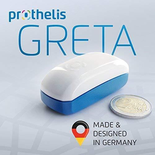 Prothelis Rastreador GPS (dispositivo de localización) para la localización de animales, personas,...