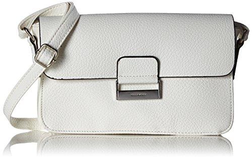 GERRY WEBER Damen Talk Different Ii Shoulderbag Shf Schultertaschen, 24x13x5 cm Weiß (100)