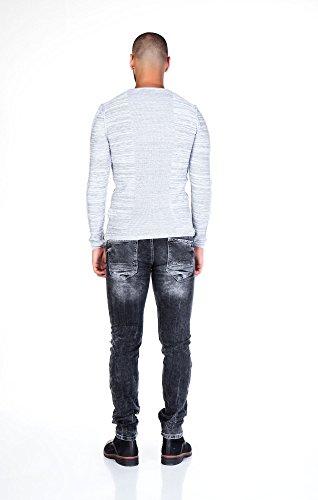 CIPO&BAXX -  Jeans  - Uomo Grigio scuro