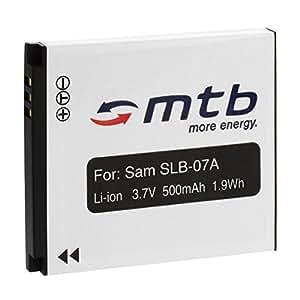 Batterie SLB-07A pour Samsung PL150, PL151, ST45, ST50, ST500, ST510...+ voir liste!