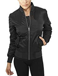 Urban Classics Damen Jacke Ladies Basic Bomber Jacket