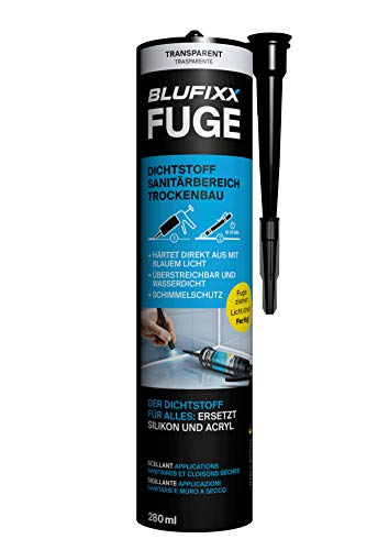 BLUFIXX Fuge SET mit LED-TRANSPARENT