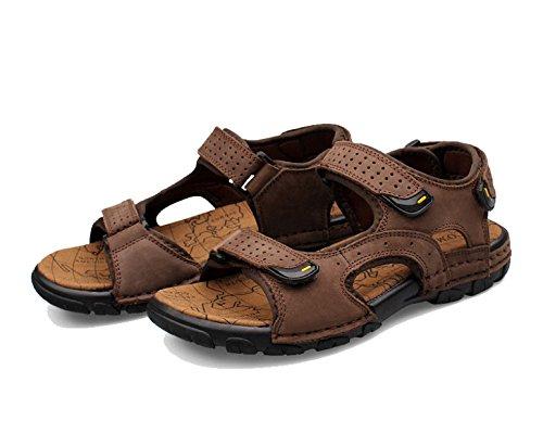 Herren Outdoor-Sandalen Sommer Sandalen Mehrfarbig Multi-size Brown