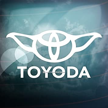 TOYODA Funny CarWindowBumper TOYOTA PRIUS JDM JAP DRIFT Vinyl - Vinyl decals for cars uk