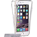 Coque DOUBLE GEL Silicone Protection INTEGRAL pour le Smartphone APPLE IPHONE 6 6S (4,7pouces) Transparent INVISIBLE by Campus Telecom