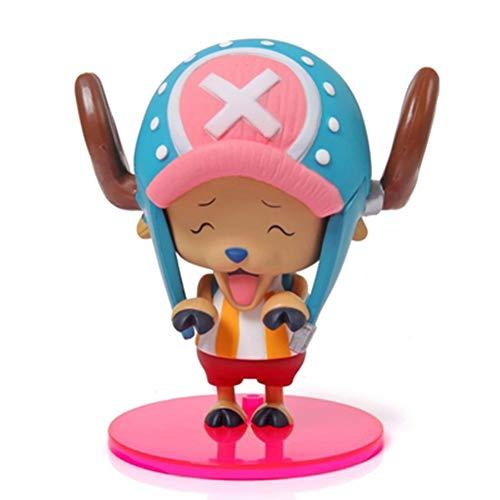 arshmallow Deer Qiao Ba Statue Modell Charakter Dekoration/Spielzeug/Sammlung/Handwerk/Weihnachten (Color : #4) ()