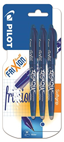 pilot-frixion-erasable-rollerball-07-mm-tip-blue-pack-of-3