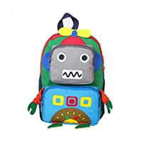 Kids Backpack Cartoon Schoolbag Robot Book Bags with Adjustable Straps for Toddler