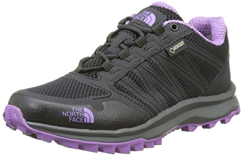 The North Face Litewave Fastpack Gore-Tex, Chaussures de Randonnée Basses Femme Gris (Phantom Grey/purple)