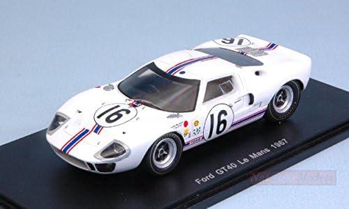 SPARK MODEL S5177 MKI FORD GT40 MKI S5177 N.16 DNF LM 1967 H.GREDER-P.DUMAY 1:43 DIE CAST 9321b4