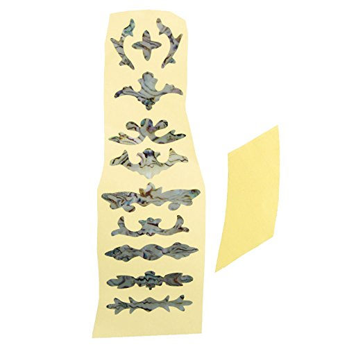Acoustic/Electric Guitar Inlay Stickers- Petal, 1 Sheet  available at amazon for Rs.355