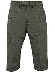 Pantalones Cortos 'chino' Para Hombre 55 Soul Don Nuevo Casual De Algodón Pantalón Corto ¾ Largo Cargo Pantalones
