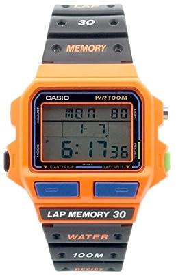 Casio SDB-500WB-4AV - Reloj de pulsera hombre, caucho, color negro