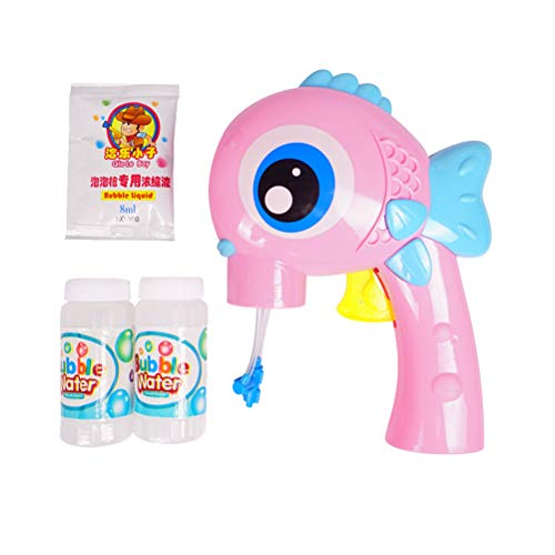 Toyvian Kinder Fisch Blase Spielzeug Blase Gebläse Maker Blase Wasser Spielzeug für Kinder Kinder