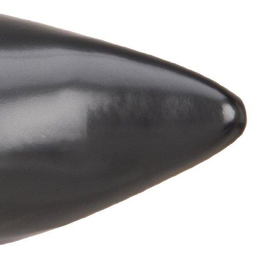 Demonia Brogue-02 Herren Kurzschaft Stiefel Schwarz (Schwarz (Blk Nappa Vegan Leather))