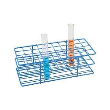 asico-blau-epoxy-stahldraht-reagenzglasstander-coated-40-locher-aussendurchmesser-der-rohre-erlaubt-