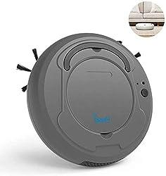Pawaca Roboterstaubsauger, 3-in-1-Automatik-Staubsauger Wischboden Kehrmaschine Roboter-Staubsauger Hund Haustiere Haare Hartholzboden-Oberflächen