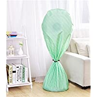 Yhcean Artículos de Uso doméstico Funda de Polvo Grande para Ventilador de Nylon en Bolsa de Almacenamiento Funda de Polvo translúcido (Verde) para casa