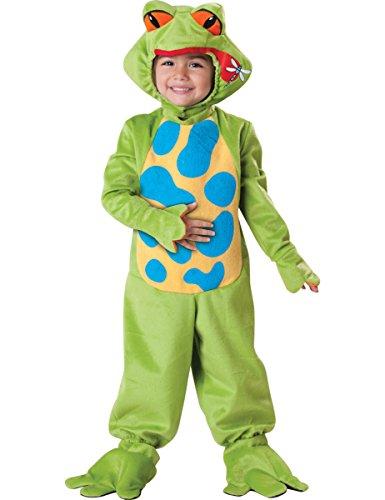 Kostüm Frosch Kind Deluxe - Generique - Frosch-Kostüm für Kinder - Deluxe 92/98 (3 Jahre)