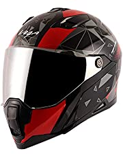 Vega Storm Drift Black Red Helmet-L