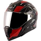 Vega Storm Drift Black Red Helmet-L
