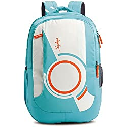 Skybags Pogo Extra 35 Ltrs Teal School Backpack (BPPOGE3TEL)