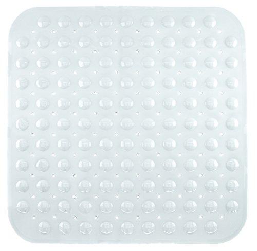 Badewanneneinlage Duscheinlage Duschmatte mit Noppen - Weiß - ca. 53 x 53 cm - von Brandseller