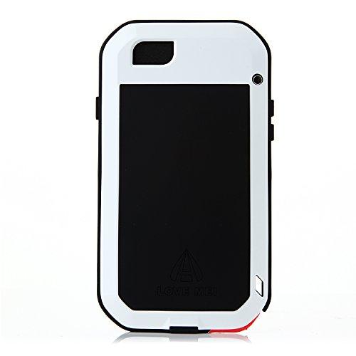 Original Schutzhülle/Hülle/Etui/Autoschondecke Aluminium Metall wasserdicht stoßfest staubdicht Nachhaltige für 4,7Zoll iPhone 6Smartphone weiß
