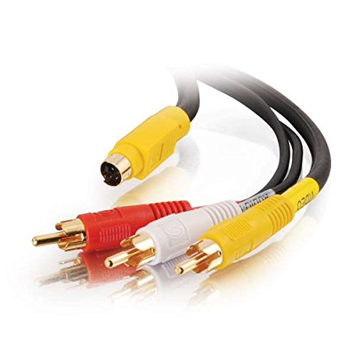 C2G 25ft Value Series 4-in-1 RCA Type/S-Video Cable 7.5m