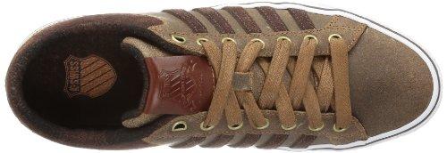 K-Swiss ADCOURT LA P VNZ 03131-293-M, Sneaker uomo Marrone (Braun (Cowboy/Espresso/White))