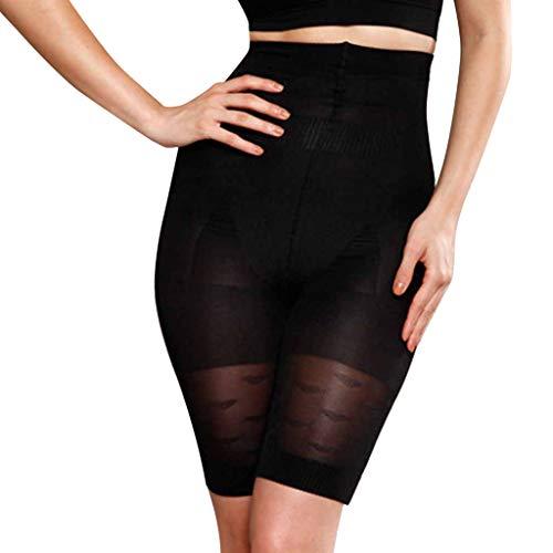 LHWY Frauen Hohe Taille Unterhose Damen Body-Shaping Gurt Comfort Flat Angles Shaping High Waist Hosen Schwarz Khaki -