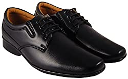 Action Synergy Mens PL4477 Black Formal Shoes
