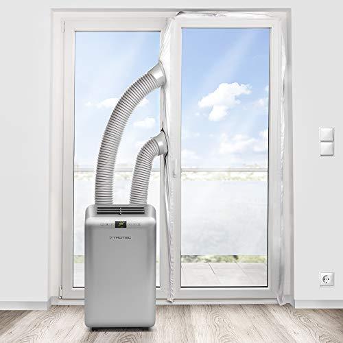 TROTEC AirLock 1000 guarnizione per porta finestra a un'anta o a due ante autonome | per climatizzatori ed essiccatori con scarico esterno dell'aria | Hot Air Stop