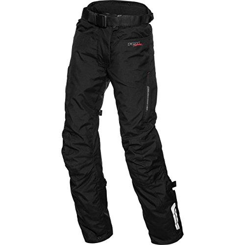 FLM Motorradschutzhose, Motorradhose, Bikerhose Damen Touren Textilhose 1.0 schwarz L, Tourer, Ganzjährig