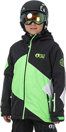 Picture Snow Jackets - Picture Seattle Snow Jacket - Black/Neon Green/White