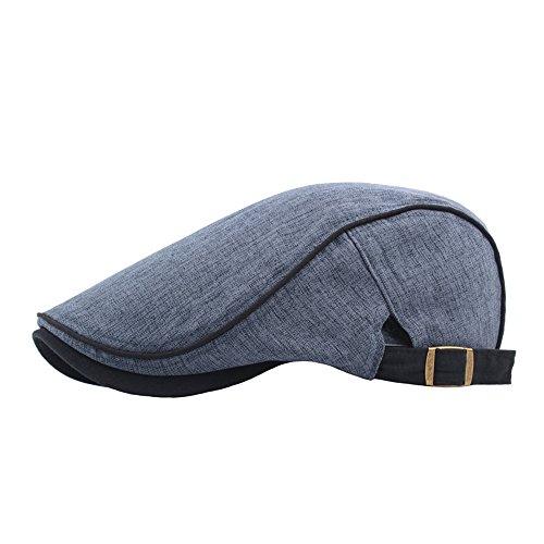 Saingace(TM) Baseball Cap Sporthüte Sommerhut  Unisex Vintage Twill Baumwolle Baseball Cap Vintage Verstellbarer Vater Baskenmütze Hut mit UV Schutz Atmungsaktive Mütze Kappe -