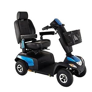 Elektromobil Invacare Orion PRO-6, 4-Rad-E-Mobil, 6 km/h, Saphirblau, das komfortable Seniorenmobil inkl. Anlieferung/Einweisung/Aufbau vor Ort