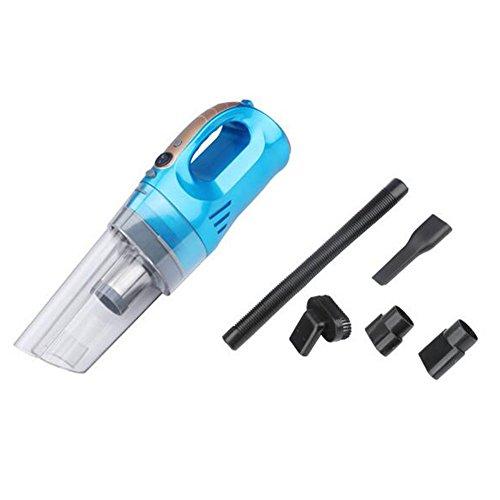 GH Auto Staubsauger Vier in One 12V High Power Kompressor LED Beleuchtung Test Reifendruck, blau