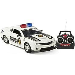 Color Baby - Coche radio control de policía, 21 cm (41248.0)
