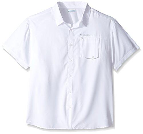 Columbia tweested Creek kurz Sleeve Shirt, Herren, tweested Creek weiß