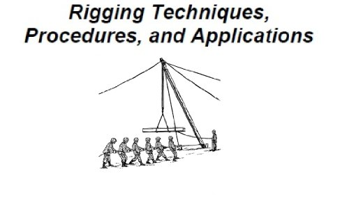 Introduction to Rigging Techniques, Procedures, and Applications. (English Edition) -