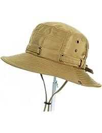 LBY Visiera da Uomo Cappello da Sole Estate Cappello da Pescatore sig.ra  Grand Hooding 13c0172be7dc
