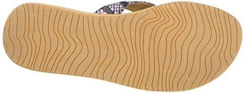 Reef Cushion Threads Tx Multi, Sandali Donna Nero (Black/Multi)