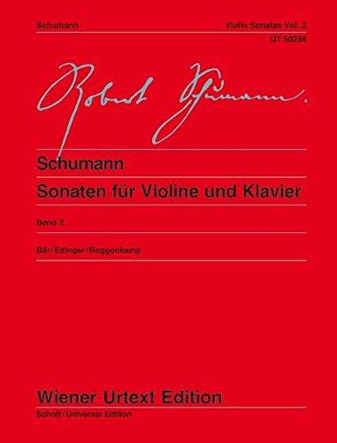 Sonaten für Violine und Klavier: nach den Quellen herausgegeben. Band 2. Violine und Klavier. (Wiener Urtext Edition)