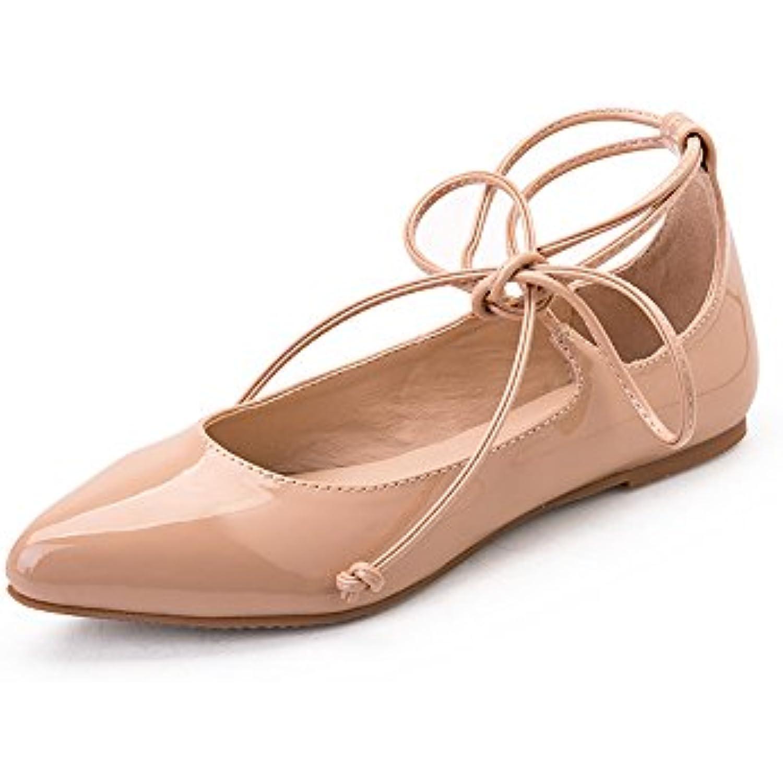 Bas Peu ChaussuresB07d5c66r6 Yqq Talons Profonde Chaussures En Cuir Fille S Femme Bouche Pour Dame Féminines kZuiOXP
