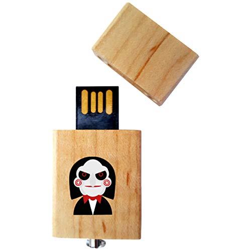 Drive USB Kollektion #Halloween_A#4/8/16 Gb Legno_4 GB Halloween_Maschera ()