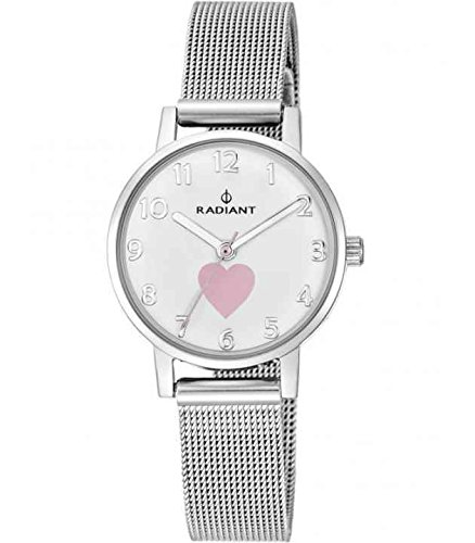Clock Cadet Radiant Heart & Butterfly–ra450202
